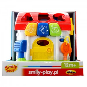 Smily Play Chatka sorter