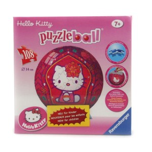Puzzle  kuliste 108e. RAVENSBURGER Hello Kitty