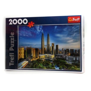 "Puzzle 2000 ""Wieże Petronas Twin Towers"""