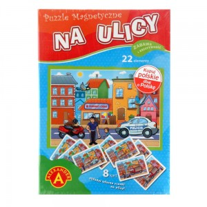 "Puzzle magnetyczne ""Na ulicy"""