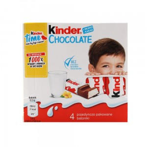 KINDER Chocolate 4x12,5g
