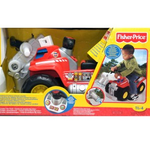 Fisher Price  Jeździk strażaka Big Action