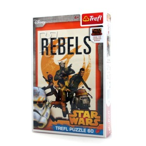 "Puzzle 60 el. TREFL ""Wojownicy Rebelii"" Star Wars Rebels"