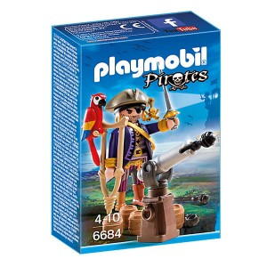 PLAYMOBIL Kapitan piratów 6684