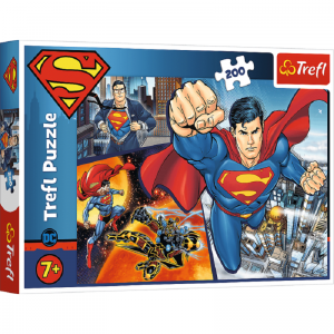 Puzzle 200 Superman Bohater