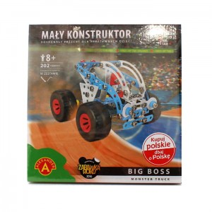 Mały Konstruktor - Monster Truck - Big Boss