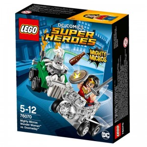 LEGO Super Heroes 76070 Wonder Woman vs Doomsday