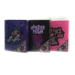 "Brulion z futerkiem A5 ""Monster High"" 96k"