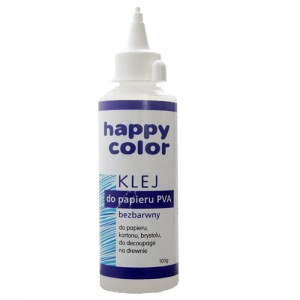 Klej do papieru PVA 100g Happy Color