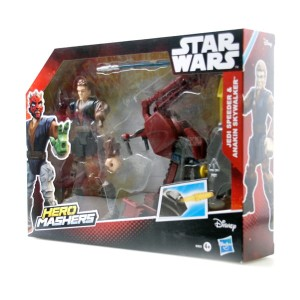 Star Wars Hero Mashers Jedi Speeder & Anakin Skywalker