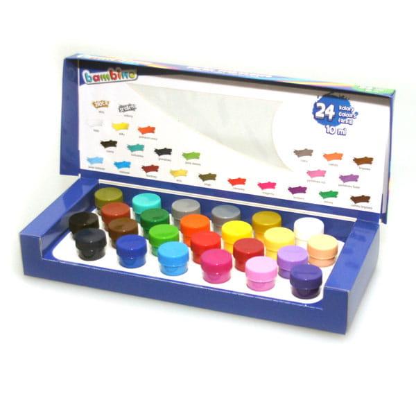 Farby Plakatowe Bambino 24 Kolorow Po 10 Ml Farby I Inne
