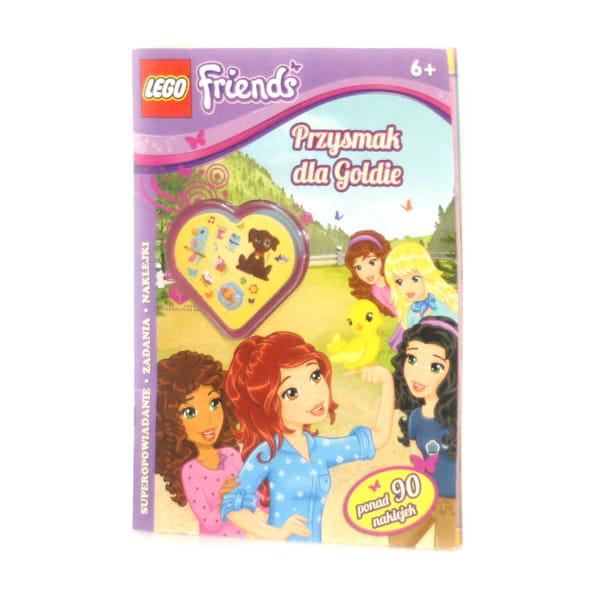 Kolorowanka Lego Friends Przysmak Dla Goldie Kolorowanki